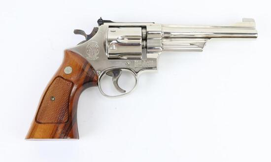 Smith & Wesson 27-2 double action revolver.