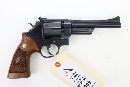 Smith & Wesson 28 Highway Patrolman double action revolver.