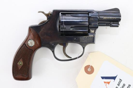 Smith & Wesson 36 double action revolver.