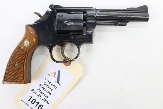Smith & Wesson 48-4 double action revolver.