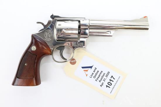 Smith & Wesson 57 double action revolver.