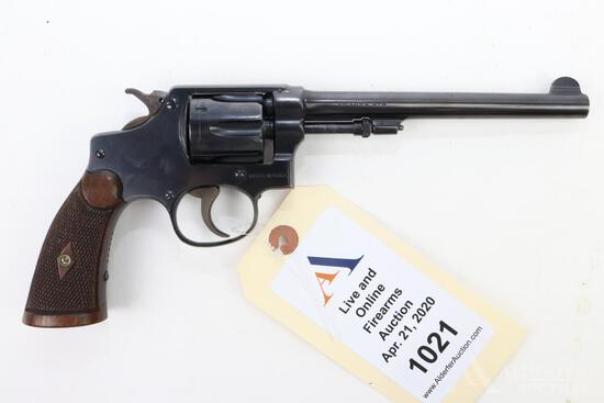 Smith & Wesson 32 Regulation Police double action revolver.