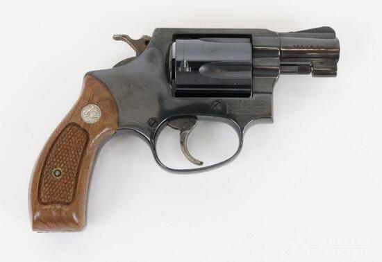 Smith & Wesson 36-7 double action revolver.