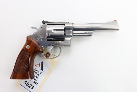 Smith & Wesson 629 double action revolver.