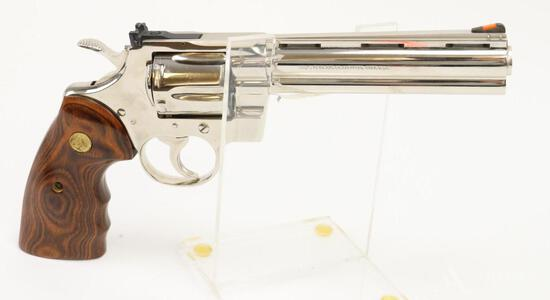 Colt Python custom shop double action revolver.