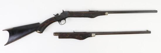 Remington #4 single shot rolling block rifle.