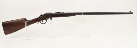 Hopkins & Allen Noiseless Falling block rifle.