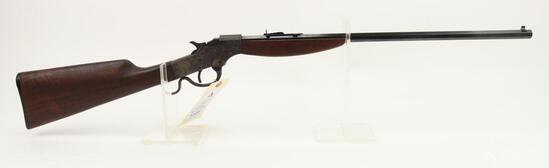 Savage 72 single shot falling block rifle.