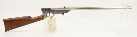 HM Quackenbush Safety Rifle smooth bore single shot rifle.