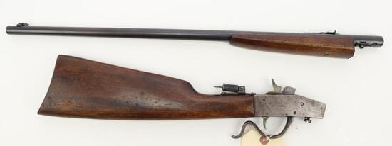 Page-Lewis Arms Co. Model C Olympic single shot rifle.