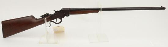 J. Stevens A&T Co. 1894 Ideal single shot falling block rifle.