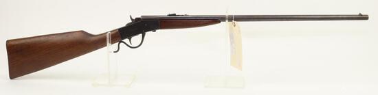 Page-Lewis Model B Sharpshooter single shot falling block rifle.