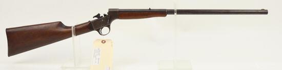 Keystone side lever single shot rifle.