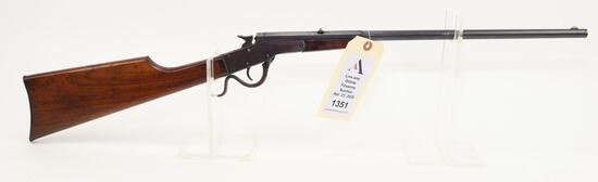 J. Stevens A&T Co. Stevens-Maynard Jr. single shot tip up rifle.
