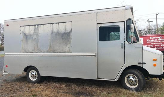 1998 Chevrolet Panel Truck - Grumman Olson Body