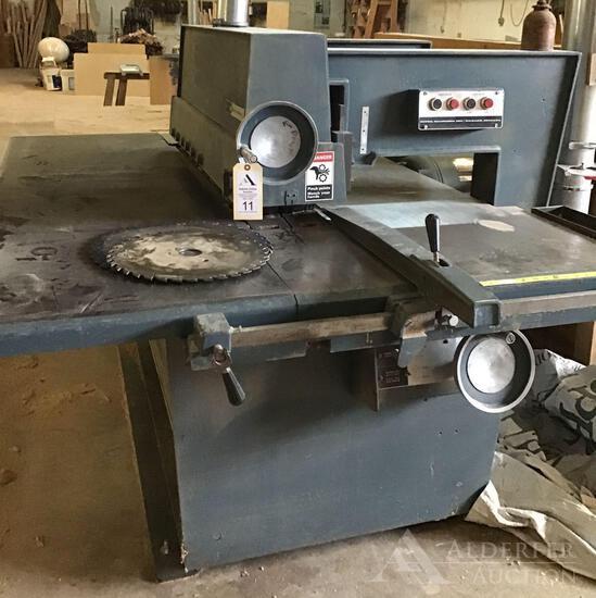 Diehl Machines Inc. Straightline Ripsaw