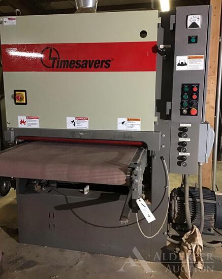 Timesavers Inc. Wide Abrasive Belt Sander