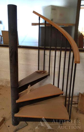 Three Step Spiral Stair Case