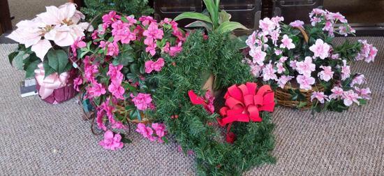 Faux Floral Arrangements