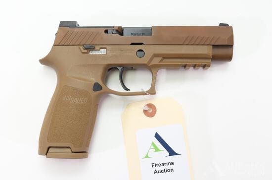 Sig Sauer P320 M17 Semi-Automatic Pistol.
