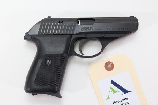 Sig Sauer P230 Semi-Automatic Pistol.