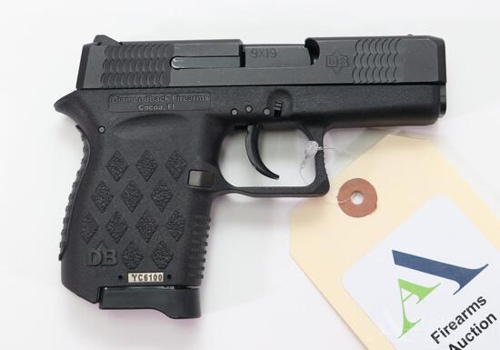 Diamondback DB9 Semi-Automatic Pistol.