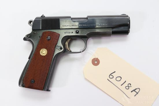 Colt Commander Light Weight Semi-Automatic Pistol.