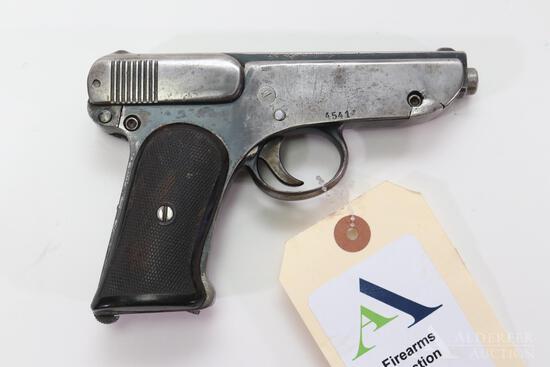 German Jager Pistole DRP ANGEM Semi-Automatic Pistol.