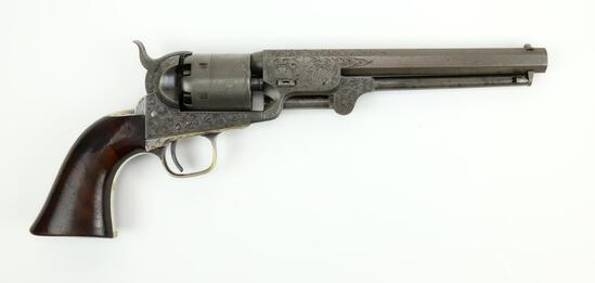 Presentation Colt Model 1851 Navy Revolver Presented to Captain Joseph Ellis of the 19th/72nd