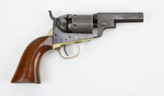 "Colt Model 1849 ""Wells Fargo"" Type Pocket Revolver"