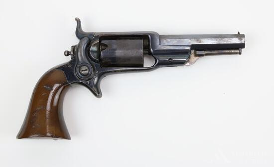 Colt Model 1855 'Root' Sidehammer Pocket Revolver with Holster