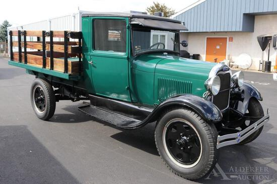 1928 Ford Model A Stake Body Truck