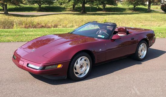1993 Chevrolet Corvette 40th Anniversary Ed.