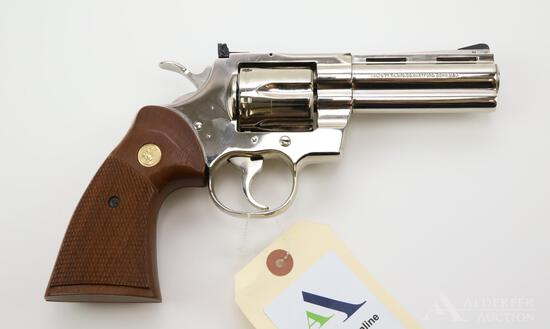 Colt Python double action revolver.