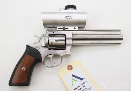 Ruger GP100 double action revolver.