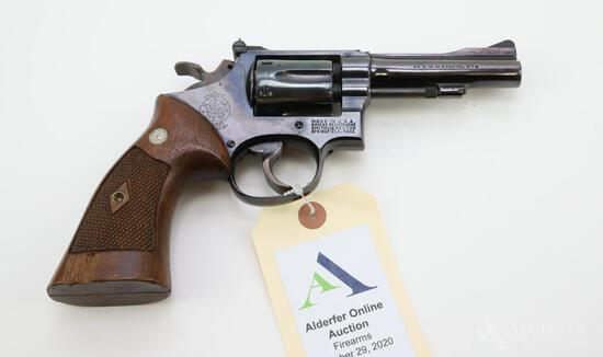 Smith & Wesson Hand Ejector double action revolver.