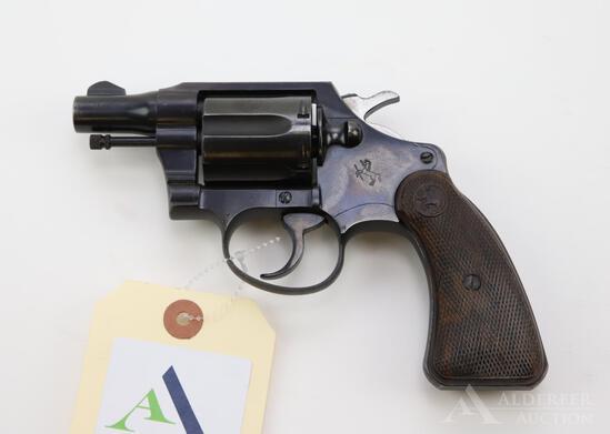 Colt Detective Special double action revolver.
