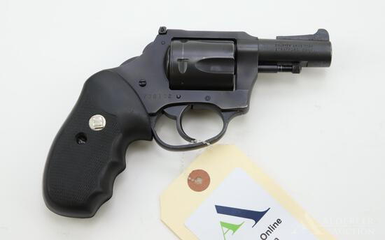 Charter Arms Hammerless double action revolver.