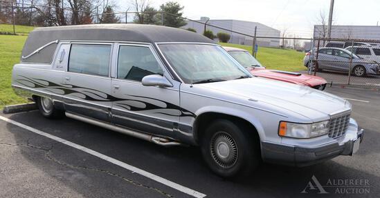 1995 Cadillac DeVille Hearse