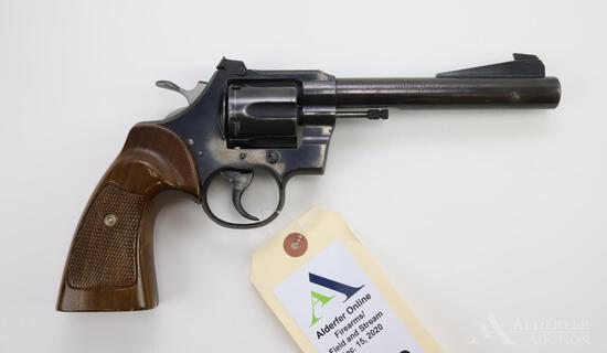 Colt Officer's Model Special double action revolver