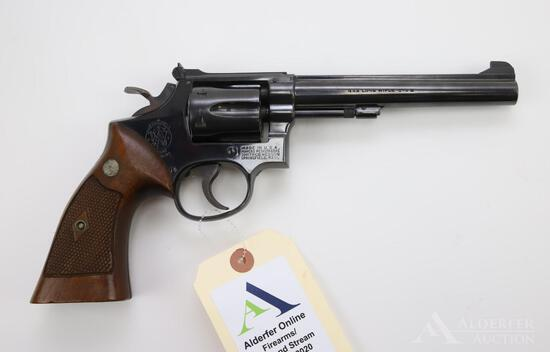 Smith & Wesson K-22 double action revolver