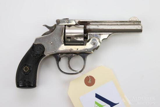 Iver Johnson Safety Hammer Automatic double action revolver