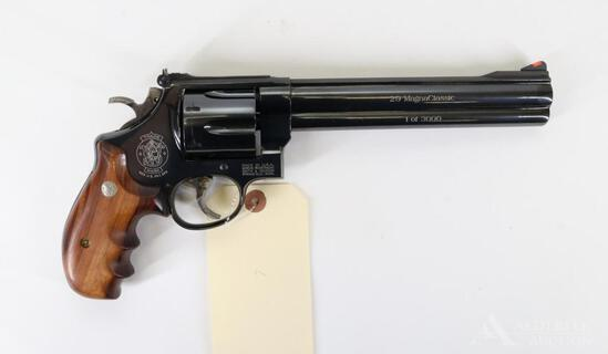Smith and Wesson 29 Magna Classic 1 of 3000 Double Action Revolver