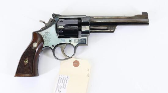 Smith and Wesson N Frame Double Action Revolver