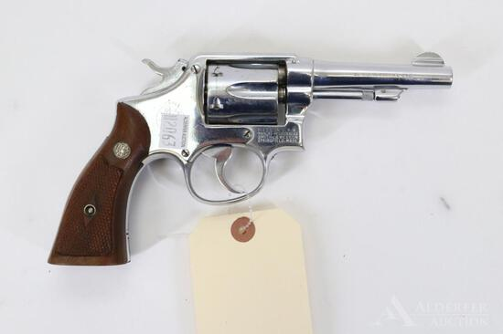 Smith and Wesson Hand Ejector Double Action Revolver