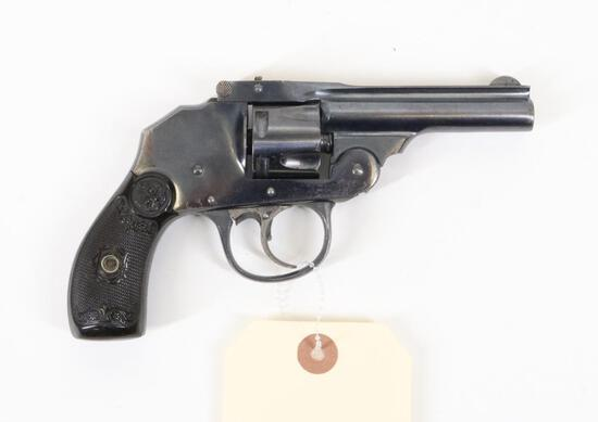 Iver Johnson Safety Hammerless Double Action Revolver