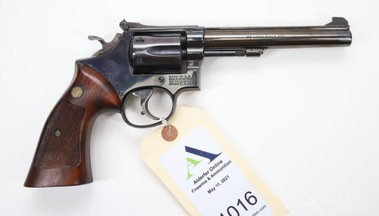 Smith And Wesson 17-3 Double Action Revolver