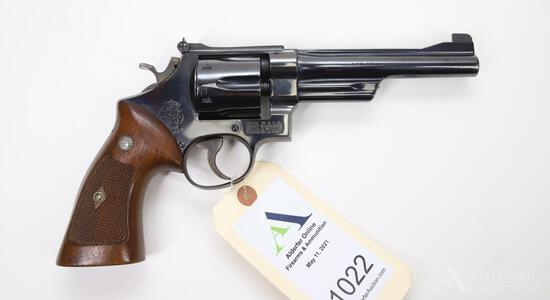 Smith And Wesson Model 27-2 Double Action Revolver