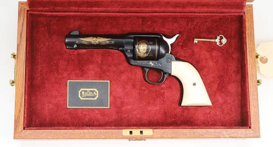 Colt SAA John Wayne Commemorative Single Action Revolver Cased Set