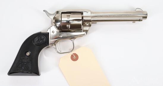 Colt Frontier Scout Lawman Series Bat Masterson Commemorative Single Action Revolver Cased Set